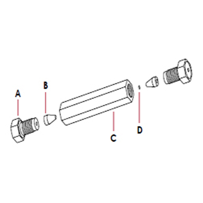 CE-003 COLUMN END FITTINGS