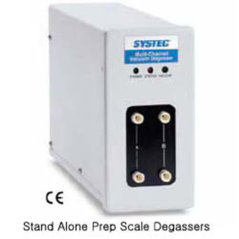 Stand Alone Prep Scale Degassers