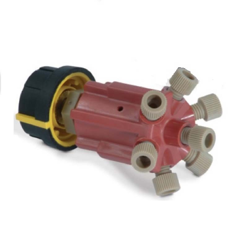Medium Pressure 6-Way Selection Valves