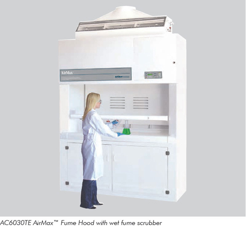 AirMax™ Fume Hood With Wet Fume Scrubber