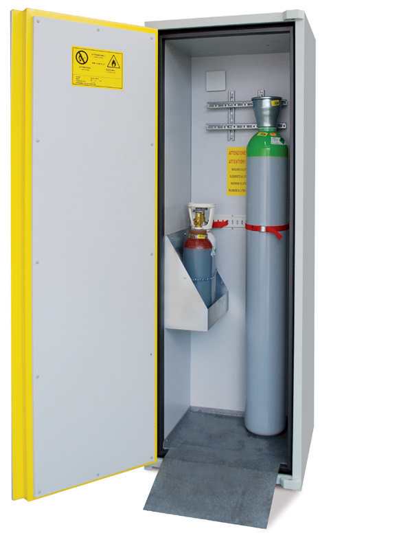 INDOOR GAS CYLINDER STORAGE