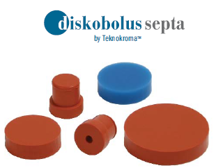 The Teknokroma  Diskobolus™ Septa For Gas Chromatography